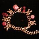 Pink Multi-charm Bracelet