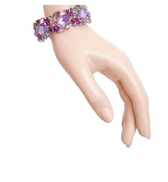 Pompus Purple Bangle