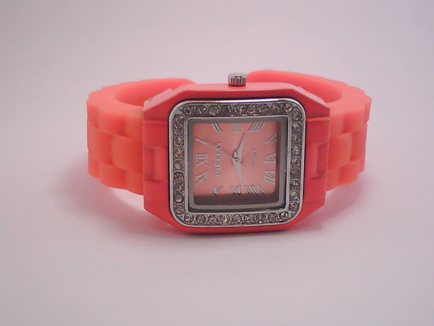 Orange Lady's Fashion Analog Watch