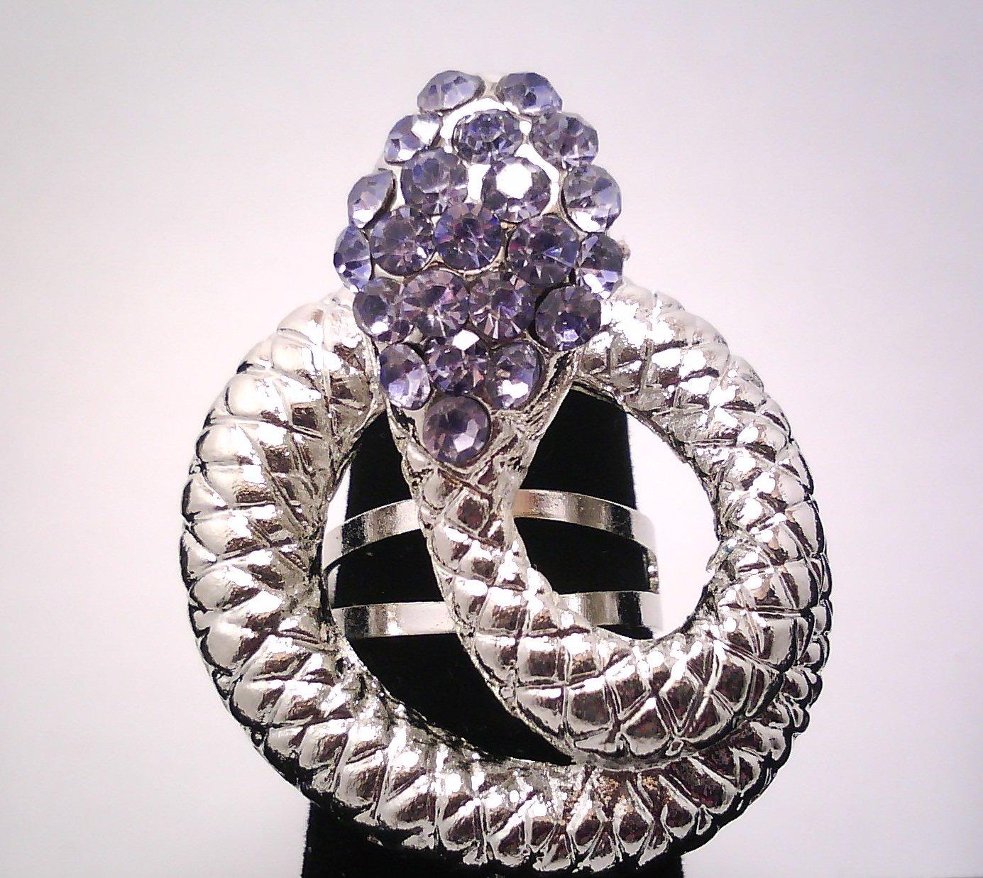 Blue Snake Fashion Ring
