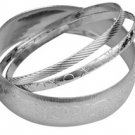 Silver Lined Bangle