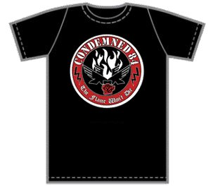Condemned 84 - The Flame Won't Die  - T-shirt Kid