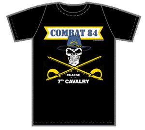 Combat 84 - Charge of the 7th Cavalry - T-shirt (Man)
