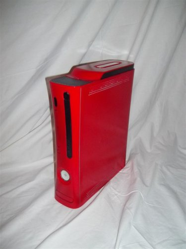 Xbox 360 System Pre Nxe Xenon Custom Painted Red Case