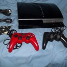 Sony Playstation 3 PS3 40 GB Console Black 2usb 40gb