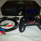 Custom Modded Original Xbox w/ XBlast - LCD screen - HDMI adapter mod 2tb Hard Drive HDD - Coinops