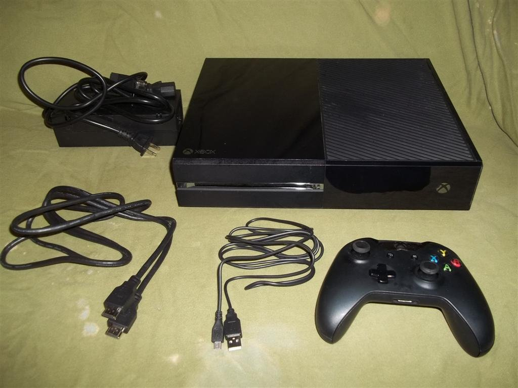 Xbox One XBOne System Complete 500gb Hard Drive - pre 10.0.14393.2152 firmware OS Dashboard