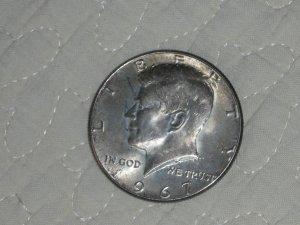 1967 HALF DOLLAR