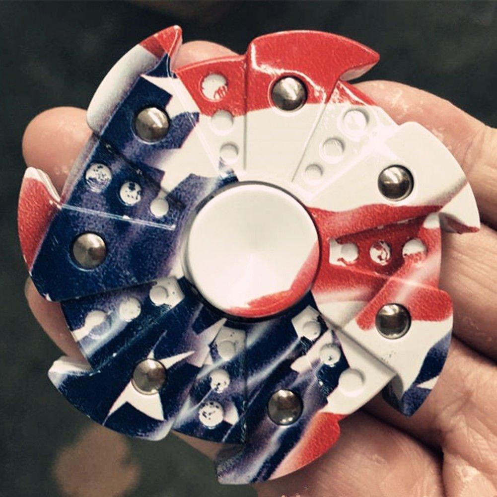 2017 Cross EDC Hand Spinner Tri-Spinner Fidget Finger Gyro Kid Adult Finger Toy
