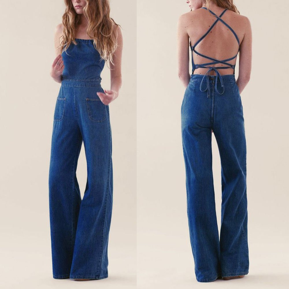 Fashion Womens Girls Casual Short Sleeve Pants Jumpsuit Romper Shorts M L XL XXL