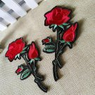Flower Patch Iron on Sew Fabric Sticker Embroidery DIY Craft Clothes Accessory
