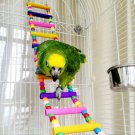 New Bird Parrot Swing Cage Chew Bites for Pet Parakeet Cockatiel Cockatoo Conure