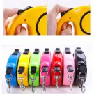 Chic Heavy Duty Metal Chain Dog Puppy Walking Lead Leash Clip With Nylon Handle
