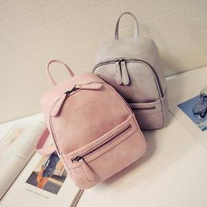 2017 Fashion Young Women Backpack Bag Shoulder PU Leather School Girls Handbag