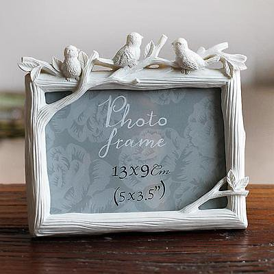 Retro Vintage Rose Resin Photo Frame Picture Frame Home Decor 5'' 6'' 7''8''10''
