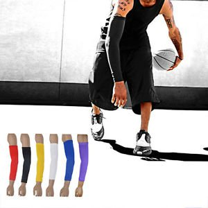 Pro Sports Armlet Basketball Bike Compression Arm Long Sleeve Guard Protector