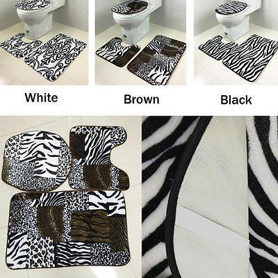 Novelty 3D Dimensional bathroom Anti-skid Bathroom Showers Floor Mat Rug