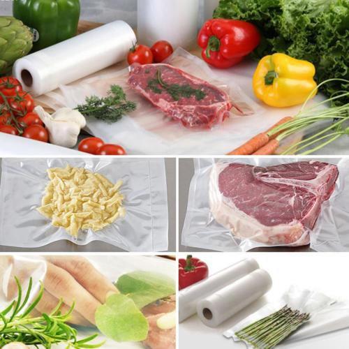 12X Large Food Bag Clear Transparent Zipped Sealing Storage Freezer & Fridge Bag