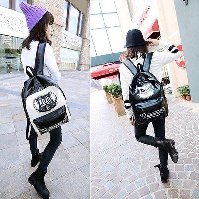Vintage Women's Canvas Travel Rucksack Hobo School Bag Satchel Bookbags Backpack