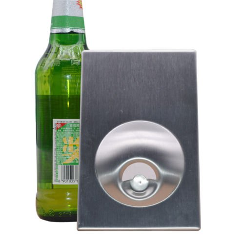New Auto Bar Wine Beer Soda Glass Cap Stainless Steel Bottle Opener Open Tool