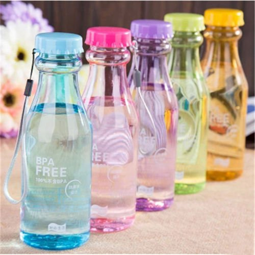 New Stainless Steel Water Bottle Travel Outdoor Yog Camping Hiking Cycling x1pcs
