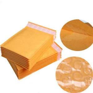 High Quality 10pcs 110x130+40mm Bubble Mailers Padded Envelopes Bags Thick