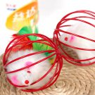 Funny Pet Cat Lovely Kitten Gift Interactive Play Toys with Fake Mouse Ball Bell