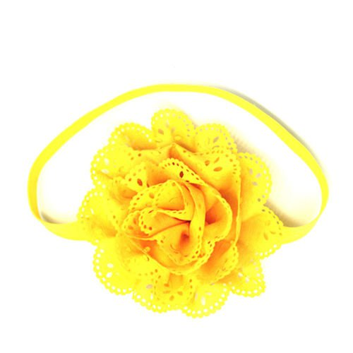 Kids Girls Headband Toddler Bow Flower Elastic Hair Band Accessories Headwear