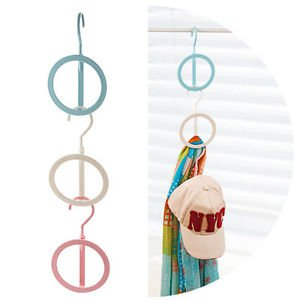 New Cap/Hat Bag Hanger Hat Storage Rack System Cap Hat Holder Scarf Storage