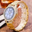New Hot  Fashion Creative Digital PU Leather Quartz Business Wrist Watch