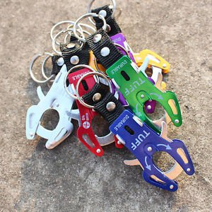 Light Quick Release Mountaineering Aluminum Alloy Buckle Keychain Multi Color