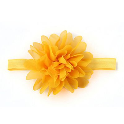 New Kids Girl Baby Headband Toddler Bow Flower Hair Band Accessories Headwear