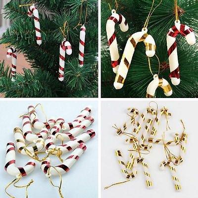 6Pcs Christmas Tree DIY Decor Clay Pendants Hanging Ornament Party Holiday Hot