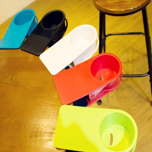 6x Fruit Coaster Colorful Silicone Cup Drinks Holder Mat Tableware Placemat Set