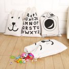 Carton Handmade Linen Cotton Draw String Storage Bag Candy Bag Big