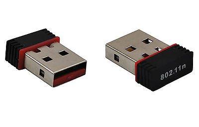2015 USB Wireless Adapter Lan Network Card IEEE 802.11b/g/n Antenna 300Mbps