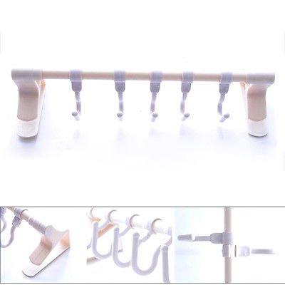 2pcs Super Seamless Self-Adhesive Wall Door Bathroom Kitchen Mounted Hanger Hook