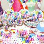 86pcs set Theme Birthday Party Supply Set Tableware Decoration For Kids Children