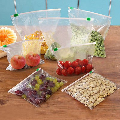 10x Thick Netted Vacuum Heat Sealer Food Saver Bag Food Grade Food Storage Bags