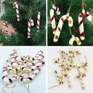 Christmas Decor Rattan Garland Xmas Santa Snowman Tree Hanging Gifts Ornaments