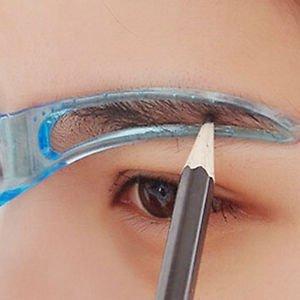 Pretty Charm Style Eyebrow Make Up Shaping DIY Beauty Tools Korean Thrush Card