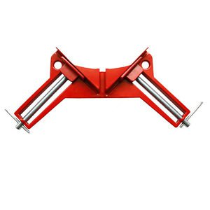 90 Degree Corner Clamp Right Angle Clip Woodworking Metal Picture Frame Tool Kit
