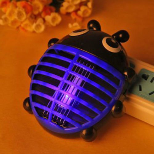 New Household Mini LED Electric Insect Mosquito Pest Repellent Catcher Trap Lamp