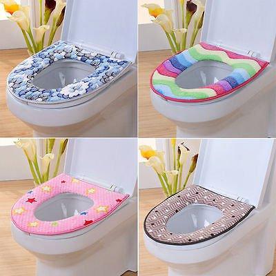 3pcs/Set Eiffel Tower Flannel Mat Toilet Cover Set Non Slip Bathroom Carpet Rug