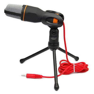 Professional Condenser Sound Podcast Studio Microphone For PC Laptop Skype MSN