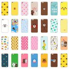 Ultra Thin Soft Silicone TPU Fashion Girls Clear Case Cover For iPhone 7 7Plus