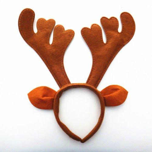 Christmas Headband Santa Snowman Xmas Party Decor Hair Band Clasp Hoop Headwear