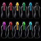 500ml Flip Straw Drinks Sport Hydration Water Bottle For Running Cycling Hiking