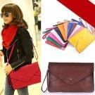 Womens Girl Envelope Clutch Chain Purse Lady Handbag Tote Shoulder Hand Bag
