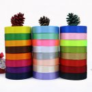 DIY Bows Satin Ribbon 22M Multi Craft Party Supplies Wedding Sewing Decorations